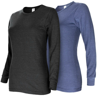 Black Snake® Womens Thermal Undershirt ringel